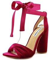 Steve Madden Clary-V Women US 8 Purple Sandals