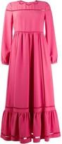 RED Valentino long ruffled dress
