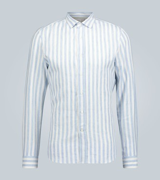 Brunello Cucinelli Exclusive to Mytheresa striped long-sleeved shirt