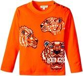 Kenzo Alfie Tee Shirt (Toddler) - Orange - 2 Years