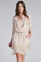 Gold Hawk Sophia Lace Dress