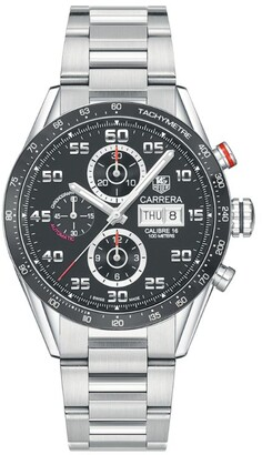 Tag Heuer Carrera Calibre 16 Day Date Automatic Chronograph Watch