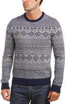 Original Penguin Wool-Blend Crew Sweater