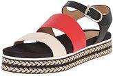 Aquatalia by Marvin K Aquatalia Women's Celina Thumbled Calf Platform Sandal,9.5 M US