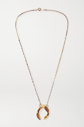 Alighieri Flashback July 2012 Gold-plated Necklace