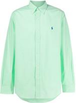 Polo Ralph Lauren gingham checked logo shirt