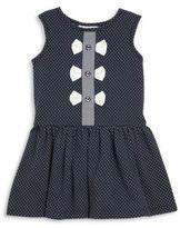 Rachel Riley Toddler's, Little Girl's & Girl's Bow Front Jersey Dress