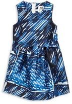 Milly Minis Girl's Scribble-Print Dress