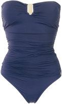 BRIGITTE draped swimsuit - women - Polyamide/Spandex/Elastane - M