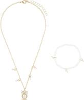 Accessorize 2x Owl Jewellery Set