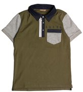 GUESS Color-Blocked Polo (7-18)