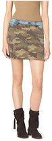 Michael Kors Camo And Dnm Skirt