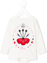 Kenzo Only You long sleeved T-shirt - kids - Cotton/Spandex/Elastane - 6 mth