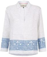 Max Mara Ortica Embroidered Tunic Top