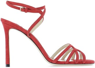 Jimmy Choo Mimi 100 Ankle Strap Sandals