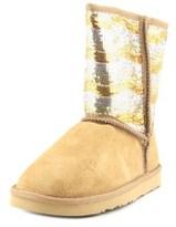 Lamo Stripy Round Toe Suede Winter Boot.