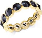 Charter Club Bezel-Set Crystal Stretch Bracelet, Only at Macy's