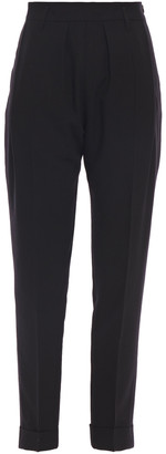 Ann Demeulemeester Wool-twill Tapered Pants