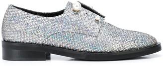 Coliac Fernanda glitter derby shoes