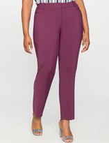 ELOQUII Plus Size Kady Fit Double-Weave Pant