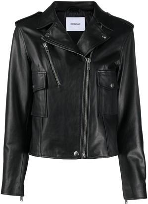 Dondup Zip-Up Biker Jacket