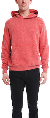 Remi Relief Silk Nep Pullover Hoodie