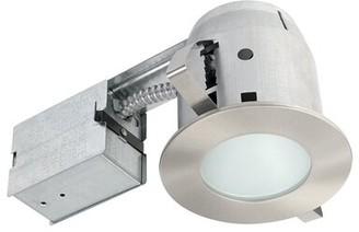 "Globe Electric Company IC Rated Bathroom Lighting 4"" Recessed Lighting Kit Globe Electric Company"