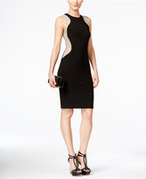 Xscape Evenings Illusion Racer Studded Party Dress