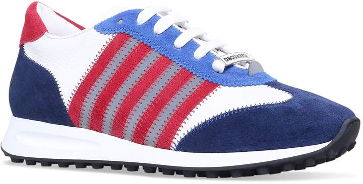 DSQUARED2 Striped New Runner Sneakers