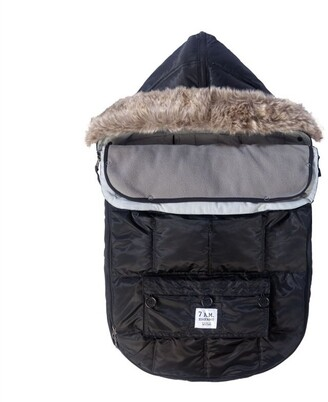 7 A.M. Enfant LE SAC IGLOO Black Small 0 TO 6 MONTHS