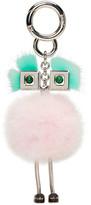 Fendi Pink Fur Chick Keychain