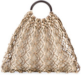 Michael Kors woven tote - women - Calf Leather/copper - One Size