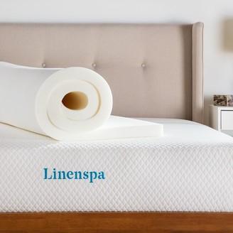 Linenspa LinenspaSignature 2-in.ActiveRelief Memory Foam Mattress Topper