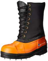 Viking Footwear Black Tusk Caulk Waterproof Steel Toe Boot