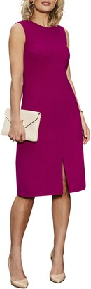 Harper Rose Sleeveless Crepe Sheath Dress