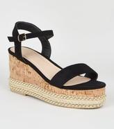 New Look Espadrille Flatform Sandals