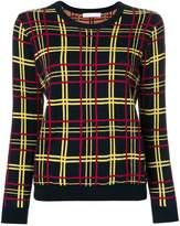 Peter Jensen check print sweater