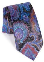 Ermenegildo Zegna Men's 'Quindici' Paisley Silk Tie