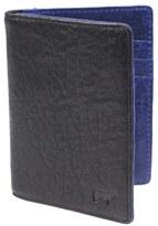 Will Leather Goods Men's 'Flip Front Pocket' Card Case - Black