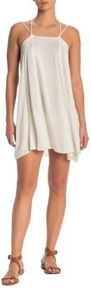 BOHO ME Strappy Square Neck Mini Dress Cover-Up