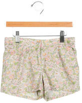 Bonpoint Girls' Floral Print Shorts