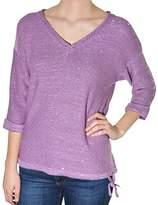 DKNY Sequin V-neck Sweater