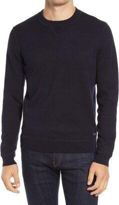 HUGO BOSS Cisero Cotton & Wool Crewneck Sweatshirt