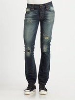 Nudie Jeans Grim Tim Straight-Slim Jeans