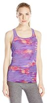 Spalding Women's Printed Easy Fit Run Tank