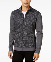 Alfani Men's Classic Fit Abstract-Print Knit Jacket, Only at Macy's