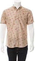 Alexander McQueen Palm Tree Print Button-Up Shirt