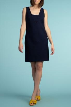 Trina Turk Gita Panel V-Neck Shift Dress