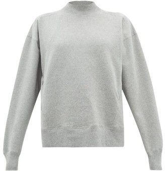 Vaara Stevie Cotton-blend Sweatshirt - Womens - Grey