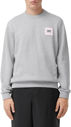 Burberry Kentley Logo Applique Crewneck Sweatshirt